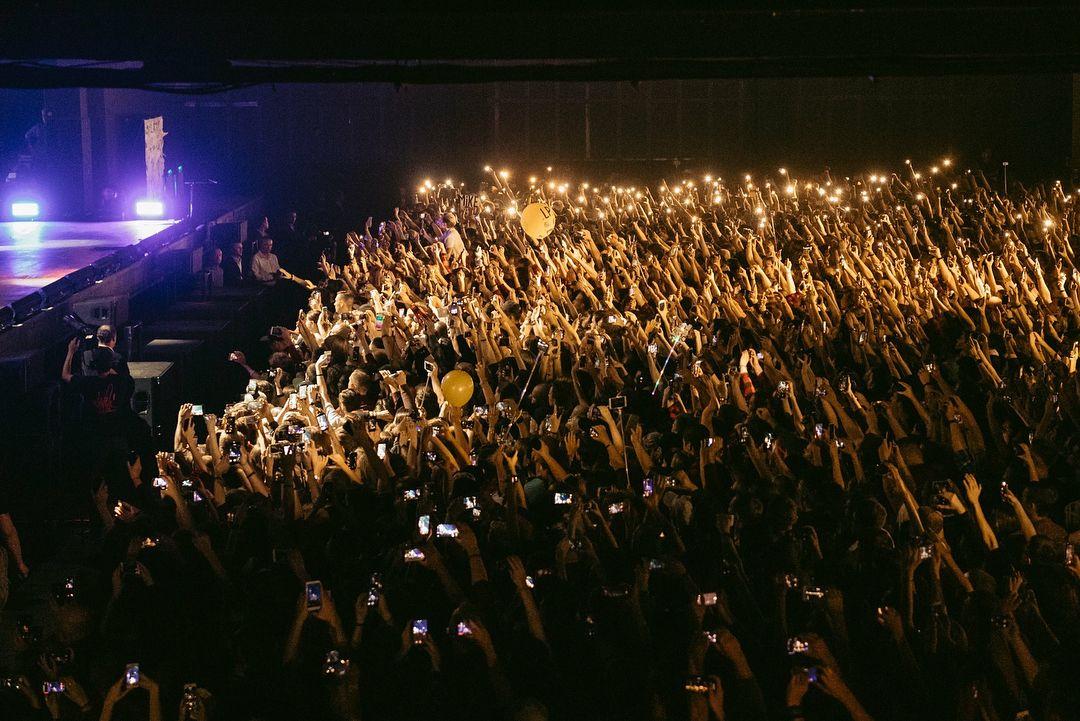 Концерт Майка Шиноды в Москве 2018