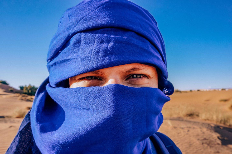 Пустыня в Марокко